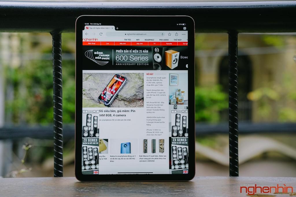 Trên tay iPad Air 4: có đúng iPad Air đây không? ảnh 1