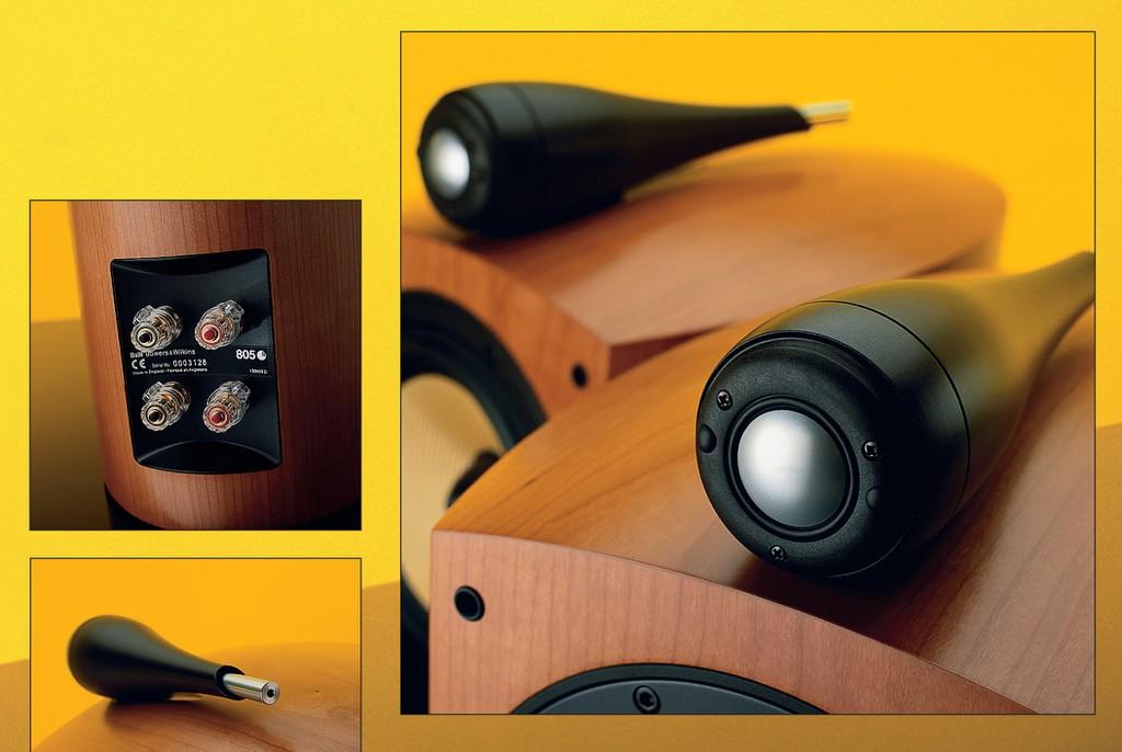 """B&W 805S – Một đôi loa đẹp, âm thanh đẹp và giá cũng đã về mức """"đẹp""""  ảnh 3"""