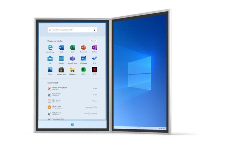 Microsoft tiet lo nhung hinh anh dau tien cua Windows 10X
