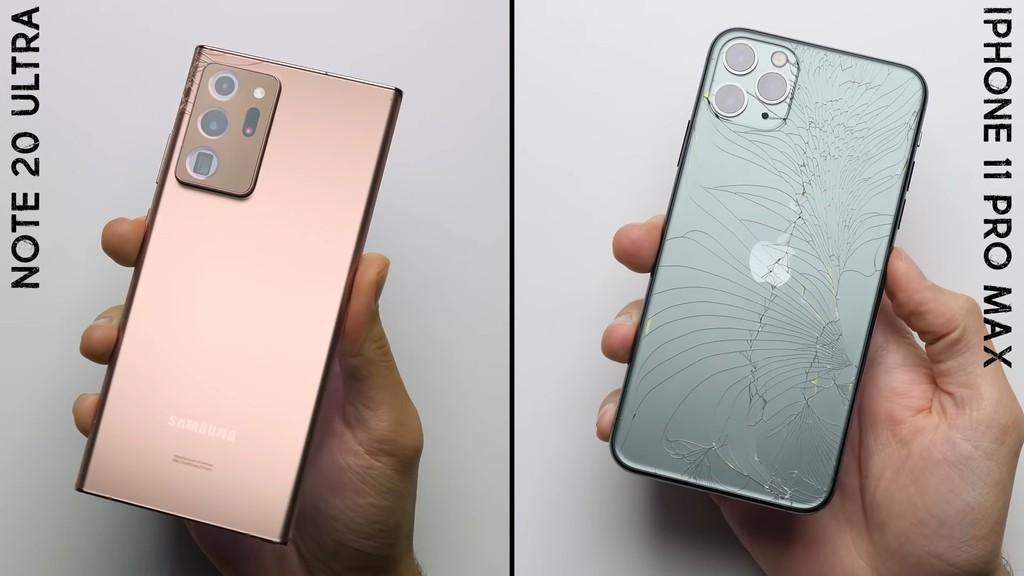 Ceramic Shield trên iPhone 12 có cứng hơn Gorilla Glass Victus trên Galaxy Note20 Ultra? ảnh 3