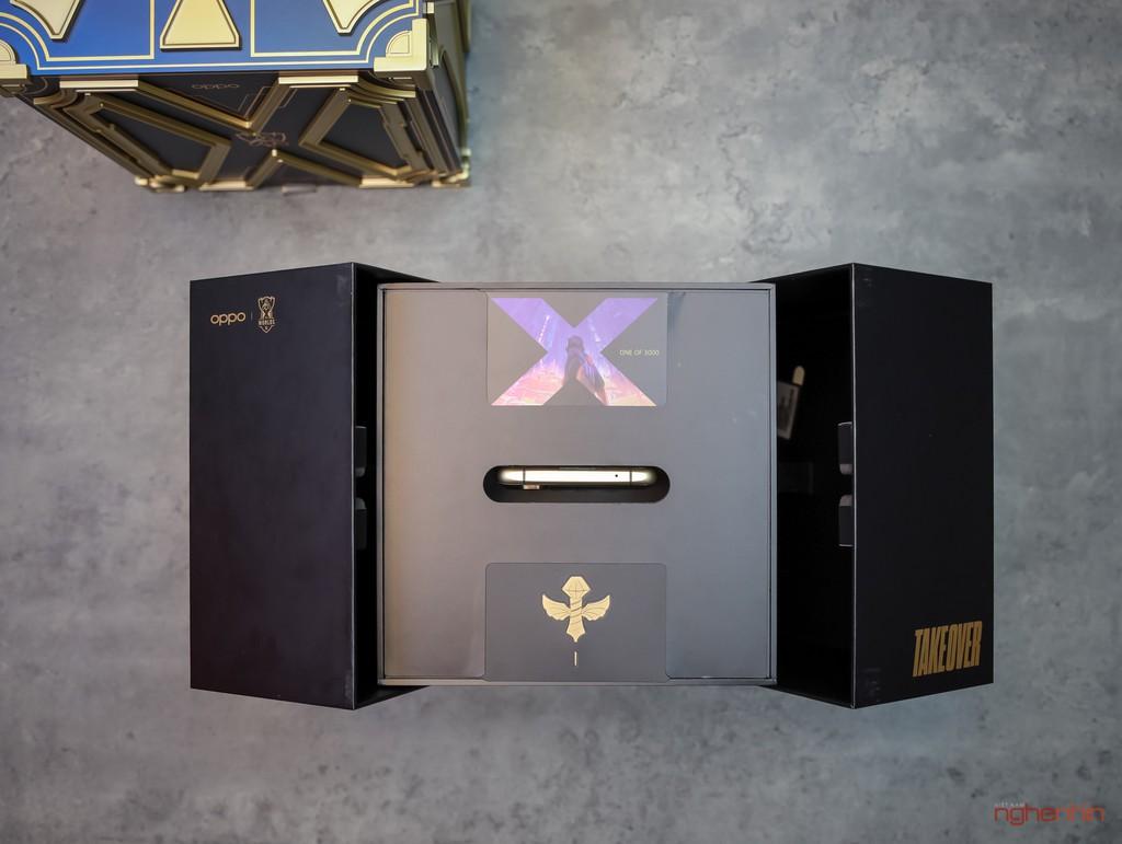 Khui hộp hàng hiếm OPPO Find X2 phiên bản Liên Minh Huyền Thoại tại Việt Nam  ảnh 3