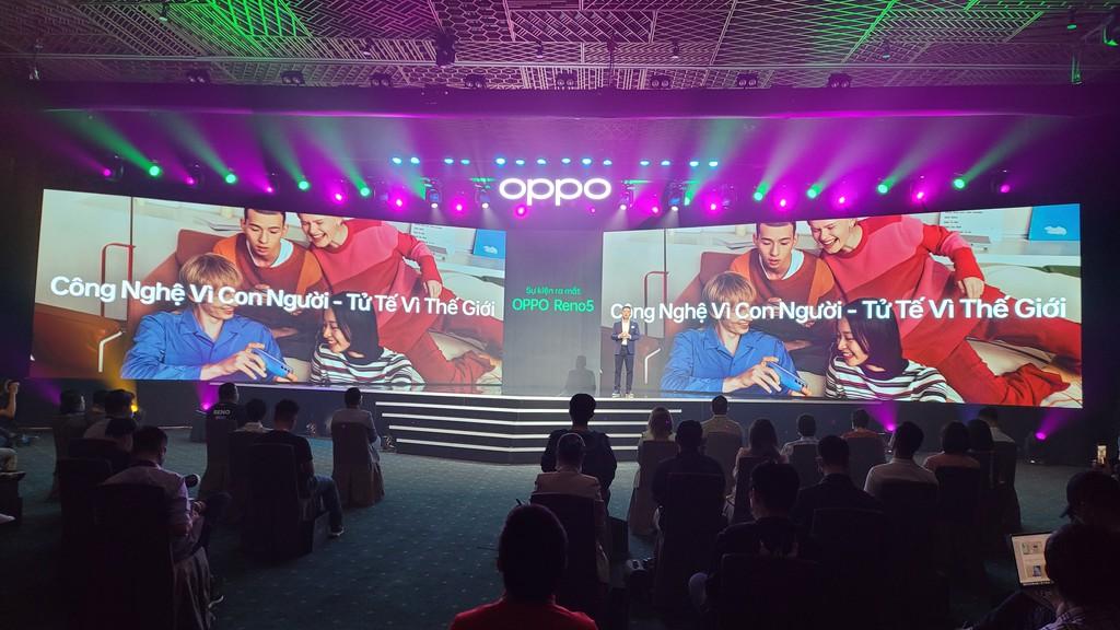 OPPO Reno5 ra mắt người dùng Việt: hình dung khoảnh khắc cuộc sống, giá 8,7 triệu  ảnh 1