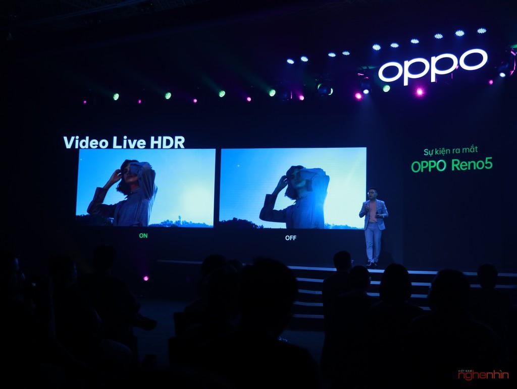 OPPO Reno5 ra mắt người dùng Việt: hình dung khoảnh khắc cuộc sống, giá 8,7 triệu  ảnh 5