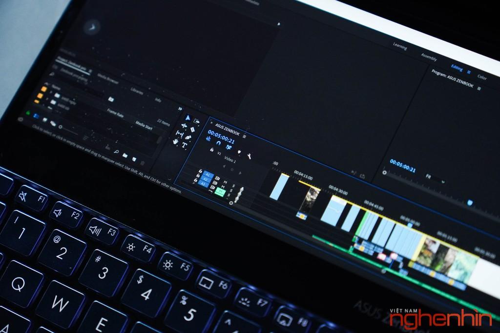 Màn hình thứ 2 trên Asus Zenbook Pro Duo sẽ làm được gì? ảnh 4
