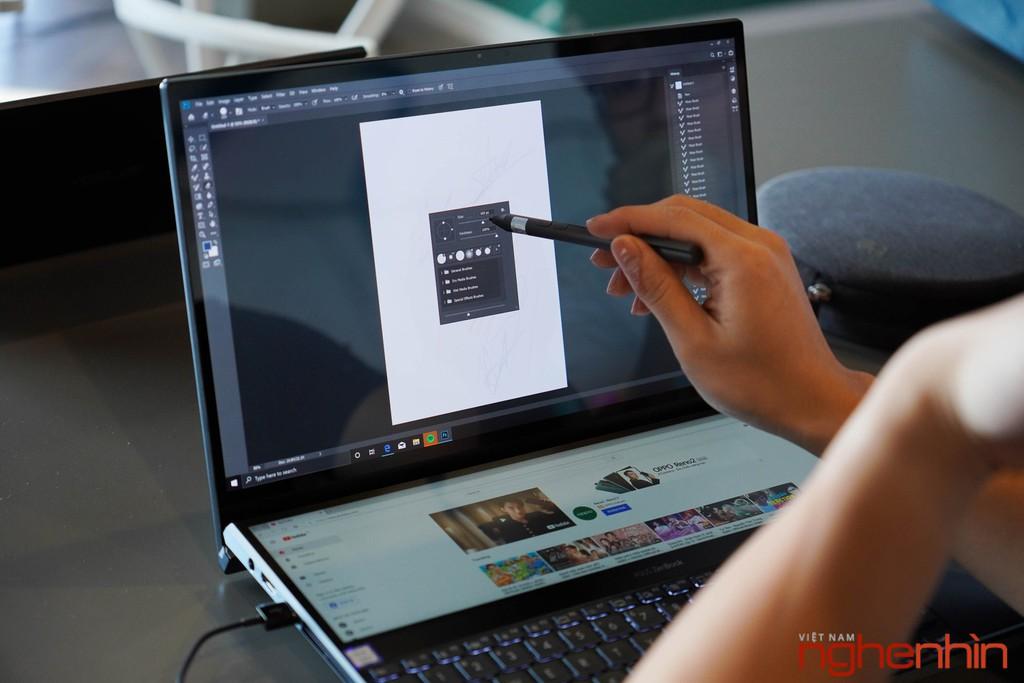 Màn hình thứ 2 trên Asus Zenbook Pro Duo sẽ làm được gì? ảnh 6
