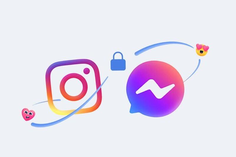 Cach nhan tin tren Facebook  va Instagram sau khi ve mot nha