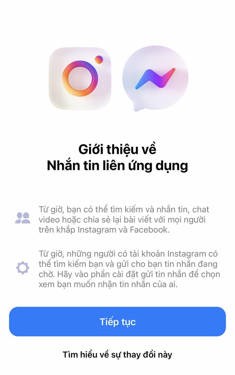 Cach nhan tin tren Facebook  va Instagram sau khi ve mot nha-Hinh-2