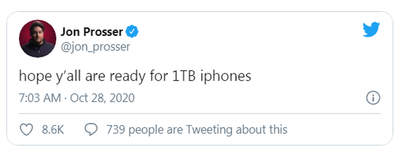 Smartphone tiep theo cua Apple co the trang bi bo nho hon 1.000GB