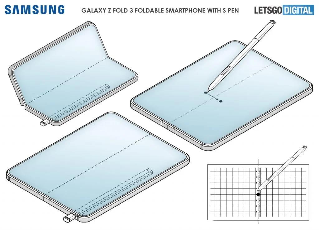 Samsung Galaxy Z Fold3 có bút S Pen? ảnh 1