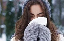 Lý giải nguyên nhân con người hay chảy nước mũi khi trời lạnh