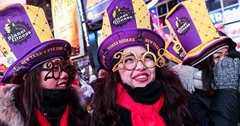 Chùm ảnh thế giới rộn ràng chào đón năm mới 2018