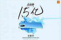 350.000 chiếc Xiaomi Mi 11 bán ra chỉ trong 5 phút