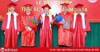 Học viện Công nghệ BCVT trao bằng cho 3 tân Tiến sĩ, 117 tân Thạc sĩ