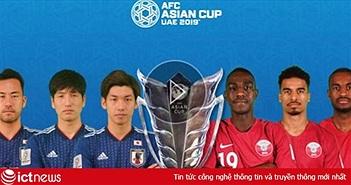 Xem bóng đá trực tiếp hôm nay: Nhật Bản vs Qatar, chung kết Asian Cup 2019