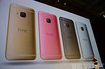 HTC One M9 chính thức ra mắt: Snapdragon 810, camera 20MP, có màu hồng