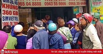 Kiếm trăm tỷ một ngày khi người dân đổ xô đi mua thẻ cào