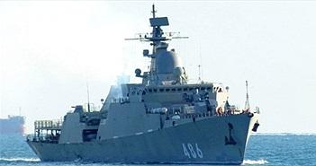 Quá vui sức mạnh tàu chiến Gepard 3.9 mới về Việt Nam