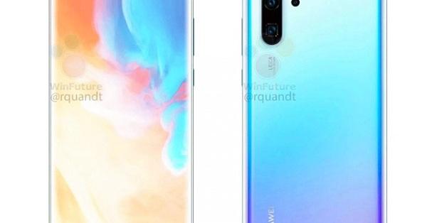 Huawei P30 Pro lộ diện với máy ảnh cực chất, zoom quang siêu xa