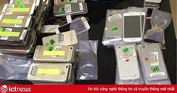 Liên tiếp bắt giữ iPhone nhập lậu sau Tết