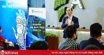 """""""Thoát xác"""" mobile, Appota chuyển hướng sang công ty công nghệ giải trí"""