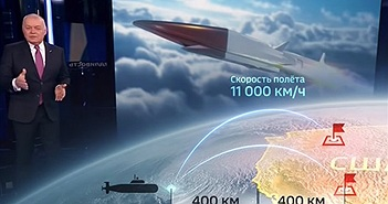 Nga chỉ thẳng các căn cứ Mỹ nằm trong tầm bắn tên lửa siêu thanh