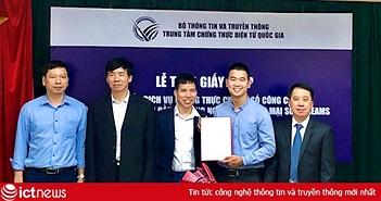 Bộ TT&TT cấp Giấy phép cung cấp dịch vụ chứng thực chữ ký số công cộng cho nhà cung cấp thứ 15