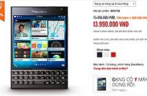 BlackBerry Passport chính hãng giảm giá còn 13.99 triệu đồng