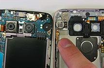 Bên trong LG G5: kết cấu một phần kim loại một phần nhựa