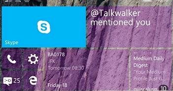 Nhiều điện thoại Lumiađượcnâng cấp Windows 10 Mobile