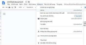 Cách luôn hiển thị số từ trong Google Docs