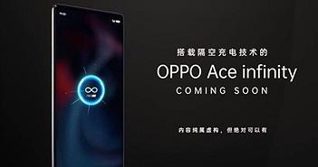 Cá Tháng tư, Oppo hé lộ smartphone Ace Infinity với công nghệ sạc không dây từ xa