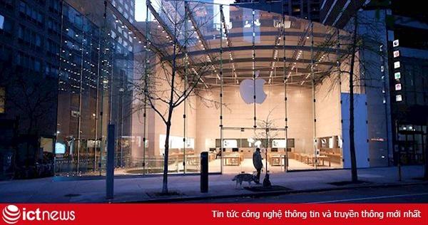 Các cửa hàng bán lẻ của Apple sẽ mở cửa trở lại từ tháng 5
