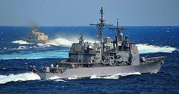 Tuần dương hạm Mỹ áp sát Trường Sa, thách thức Trung Quốc trên Biển Đông