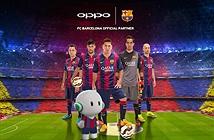 Oppo trở thành đối tác chính thức với đội bóng Barcelona