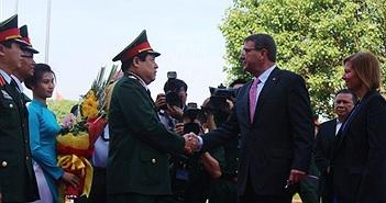 Bộ Quốc phòng Việt Nam và Hoa Kỳ ký Tuyên bố Tầm nhìn chung