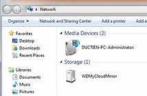Sao lưu dữ liệu nội bộ trên thiết bị NAS My Cloud