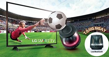 Chào Euro 2016, LG tặng loa Bluetooth cho khách mua Tivi