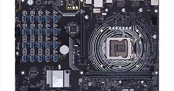 Asus ra mắt bo mạch chủ chuyên đào tiền ảo với 20 khe GPU
