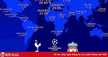 Xem trực tiếp chung kết Champions League 2019 đêm nay: Tottenham vs Liverpool, 2h00 ngày 2/6
