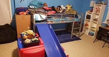 Lạ lùng trộm đột nhập, lau dọn các phòng rồi bỏ đi