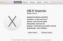 Apple phát hành OS X 10.10.4 để sửa lỗi kết nối mạng và iTunes 12.2 hỗ trợ Apple Music