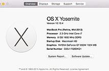 Apple phát hành OS X 10.10.4 để sửa lỗi kết nối mạng