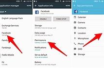 Ngăn chặn Facebook thu thập vị trí của smartphone