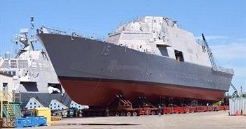 Thăm nơi đóng tàu chiến lớp Freedom tối tân của Mỹ