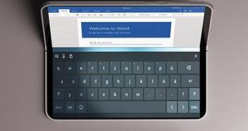 Lộ ảnh render của Surface Phone với màn hình gập độc đáo