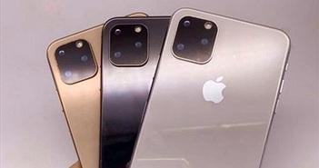 Tại Trung Quốc, iPhone XI đã được bán ra với 3 màu sắc, camera vuông