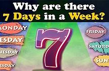 Vì sao một tuần có 7 ngày?