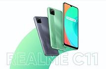 Realme C11 ra mắt: Helio G35, pin 5000mAh, giá từ 99 USD