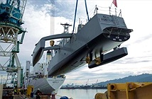 Ngắm chiến hạm săn ngầm tự lái lớn nhất thế giới
