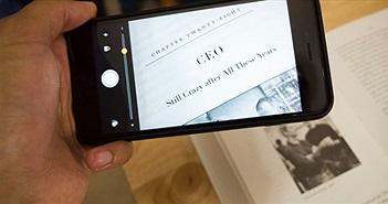 """""""Hô biến"""" iPhone thành chiếc kính lúp để phóng to văn bản"""